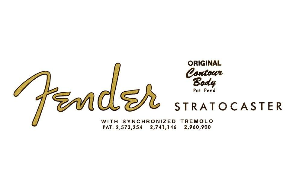 Fender Logo Design Evolution