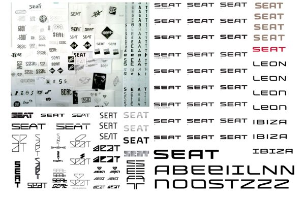 Seats Logo Design 5