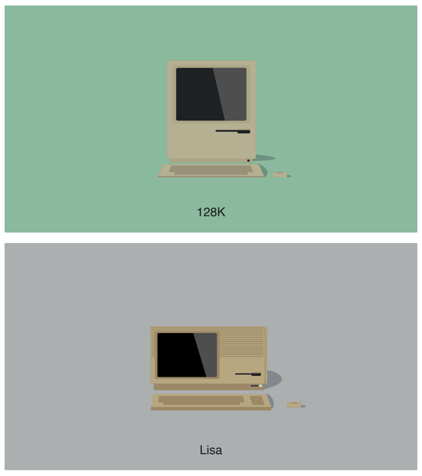 Apple Mac Illustrations
