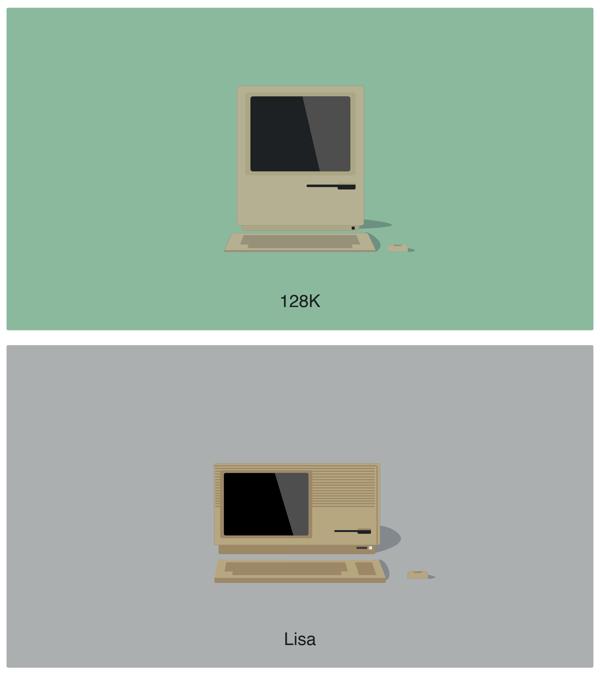 Apple Mac Illustrations