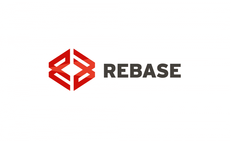 Rebase Logo Designed by Freelance Logo Designer The Logo Smith