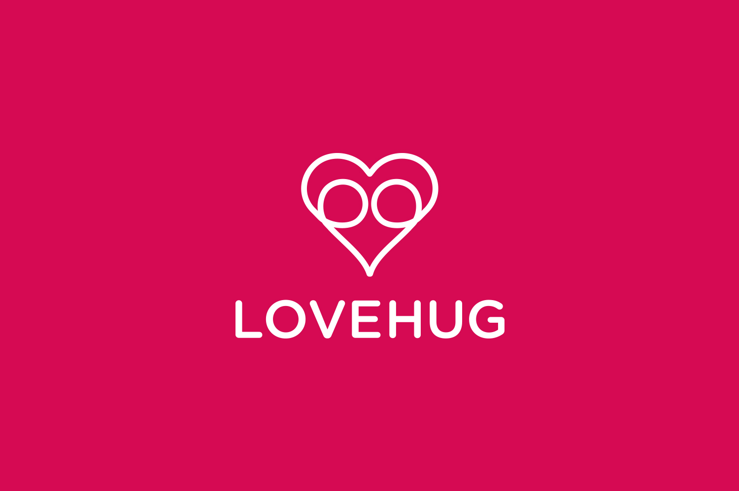 LoveHug logo 1 designed by imjustcreative copy