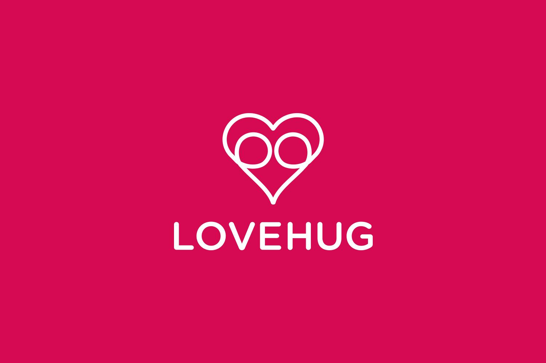 LoveHug logo 1 designed by imjustcreative copy