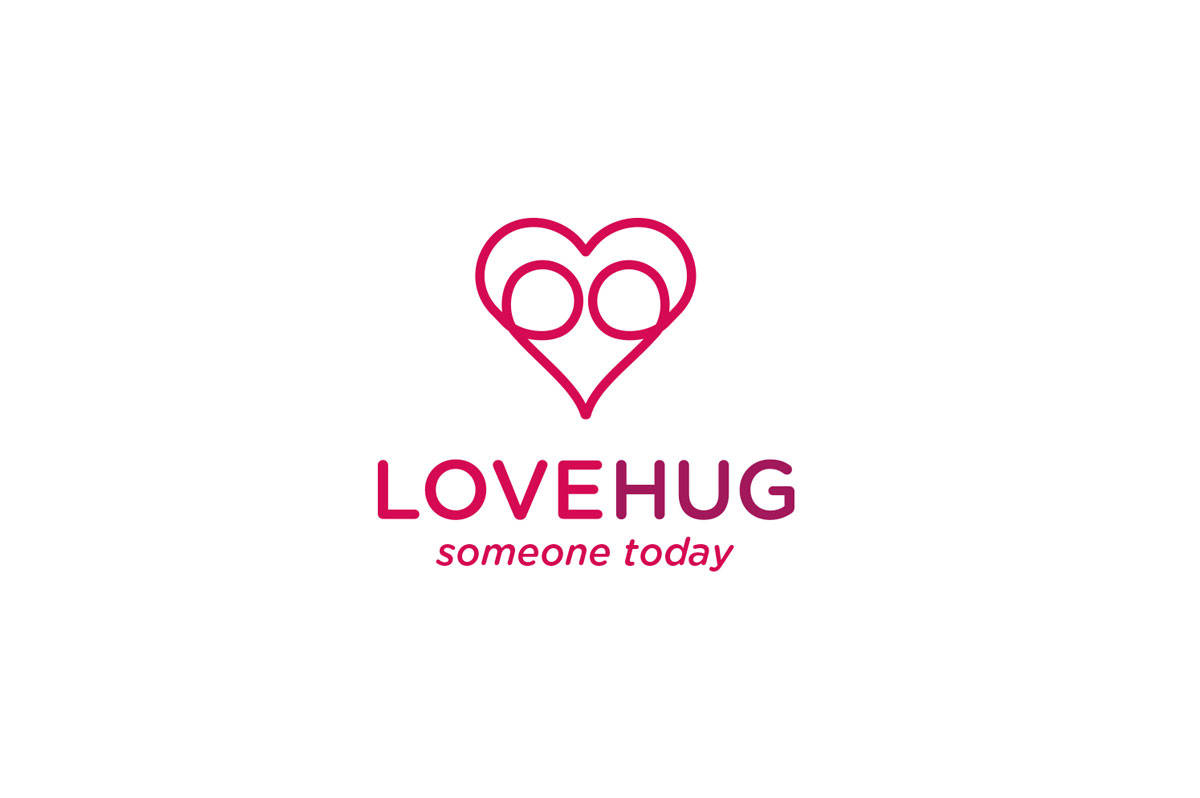 Lovehug-logo-for-sale-designed-by-Graham-Smith-Small
