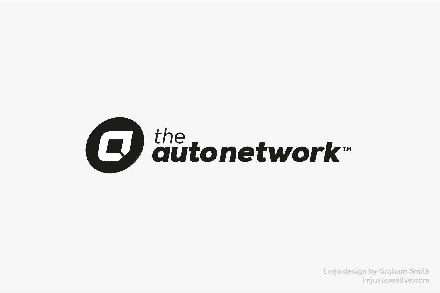 The Auto Network Mono logo design by imjustcreative