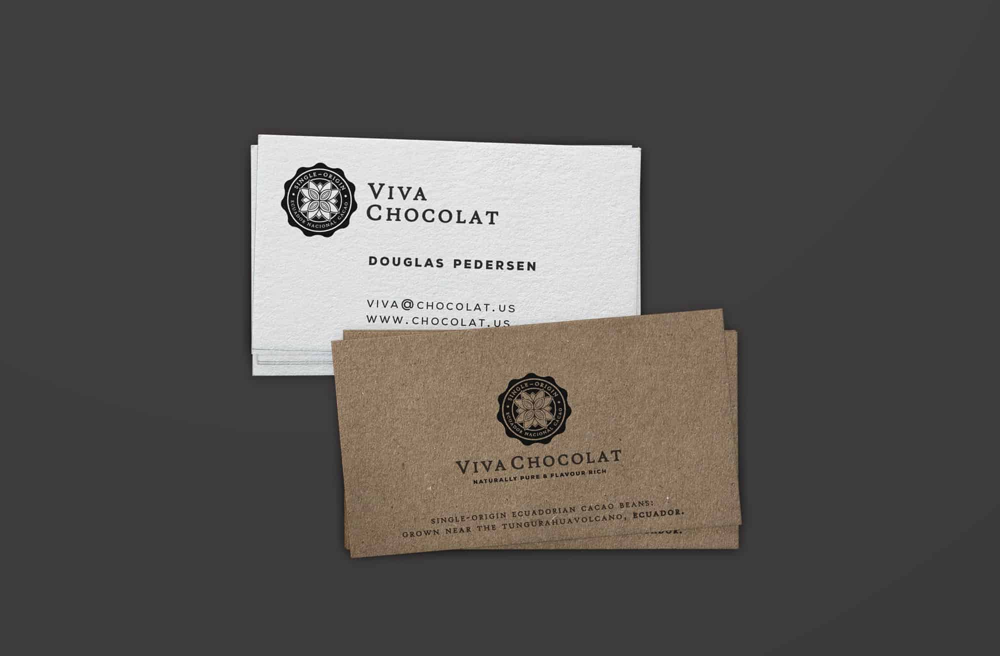 Viva Chocolat Logo & Brand Identity Designed by The Logo Smith