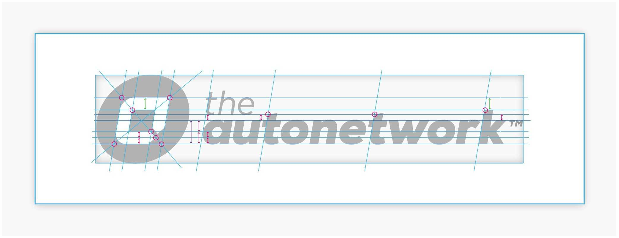 the autonetwork logo deconstructed