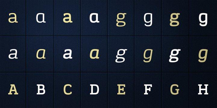 Korpo Serif, designed by Mateusz Machalski 1