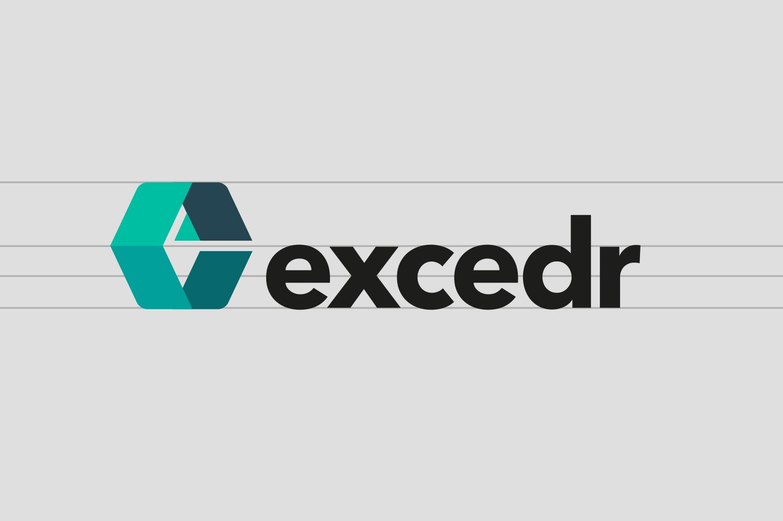 Excedr logo design 1 by Graham Smith