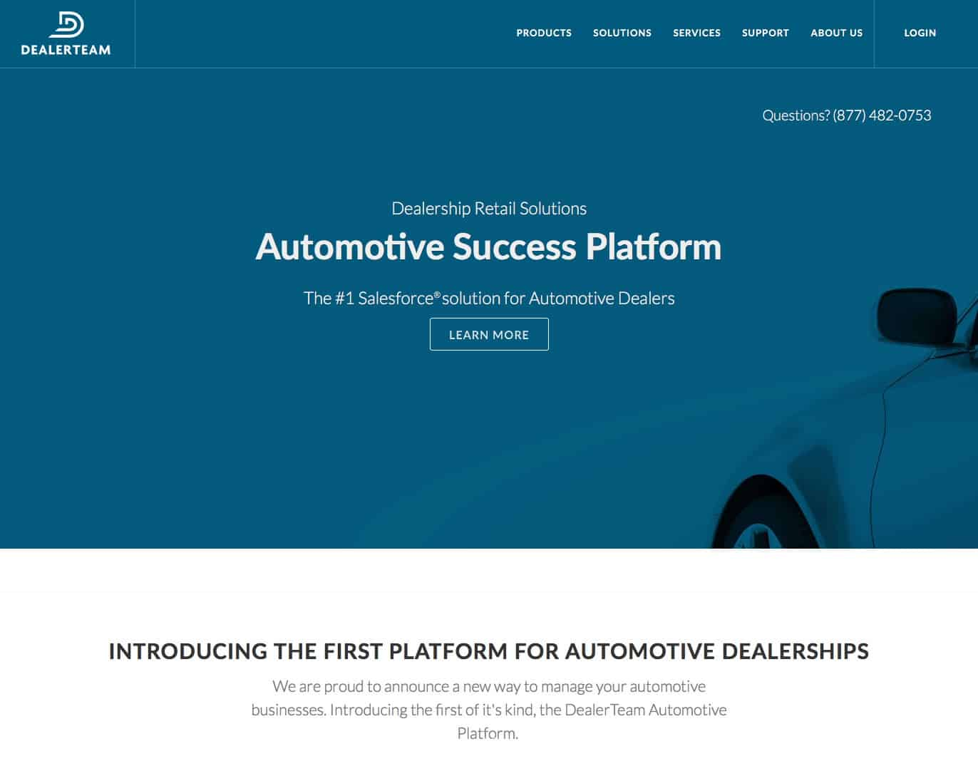 Dealerteam website