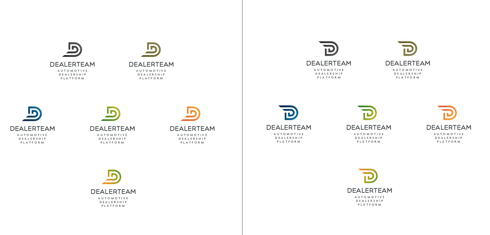 DealterTeam Automotive Dealership Logo Designed by The Logo Smith Freelance Logo Designer