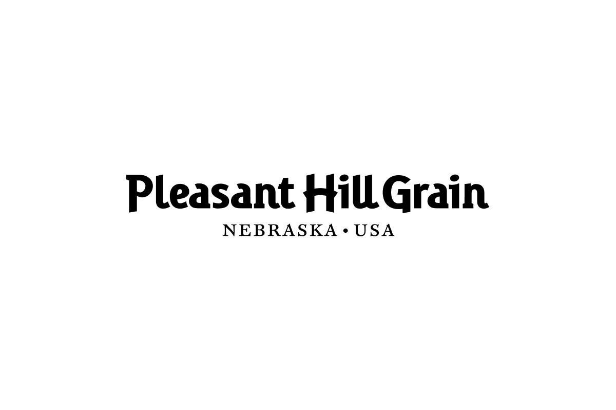 Pleasant-Hill-Grain-logotype-designed-by-Graham-Smith-1