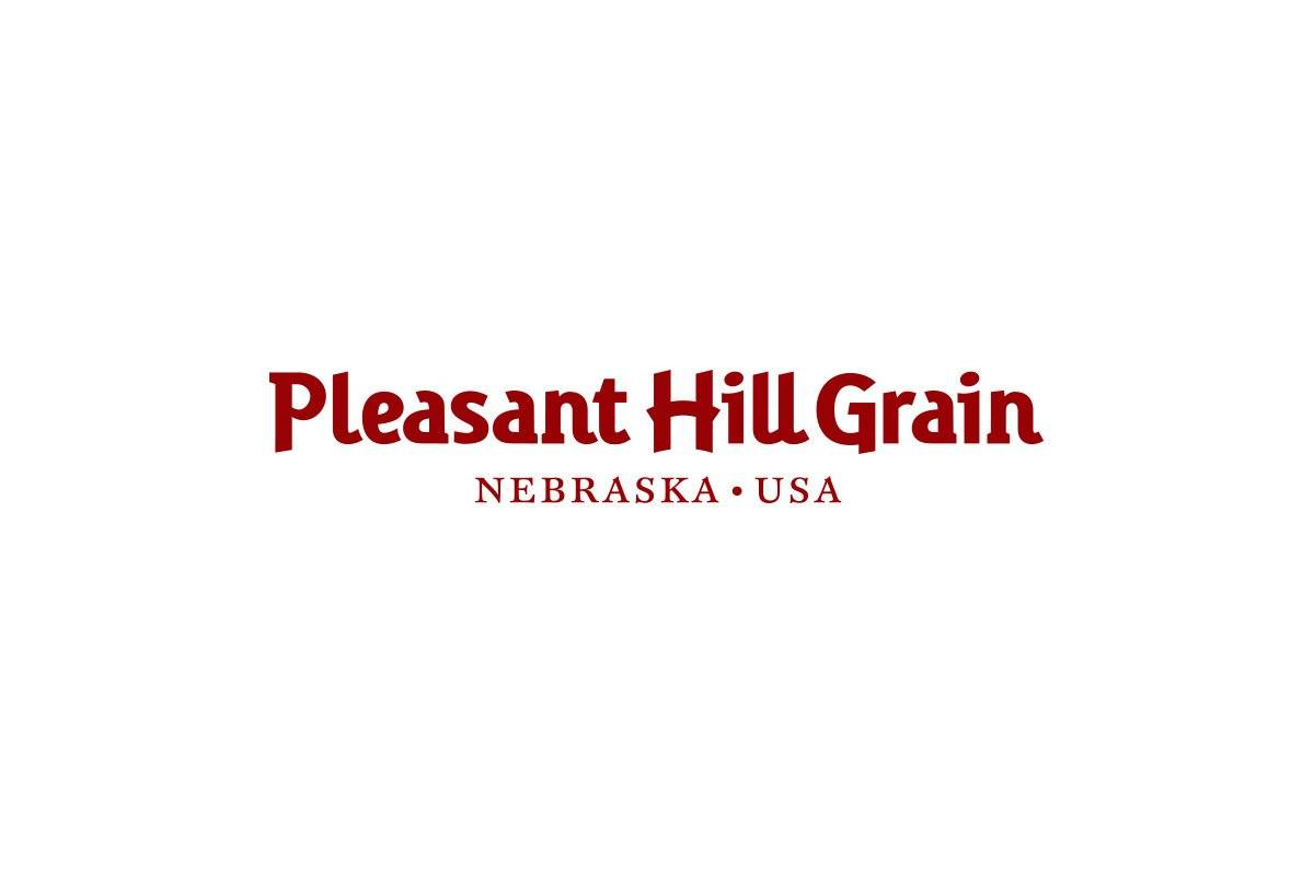 Pleasant-Hill-Grain-logotype-designed-by-Graham-Smith