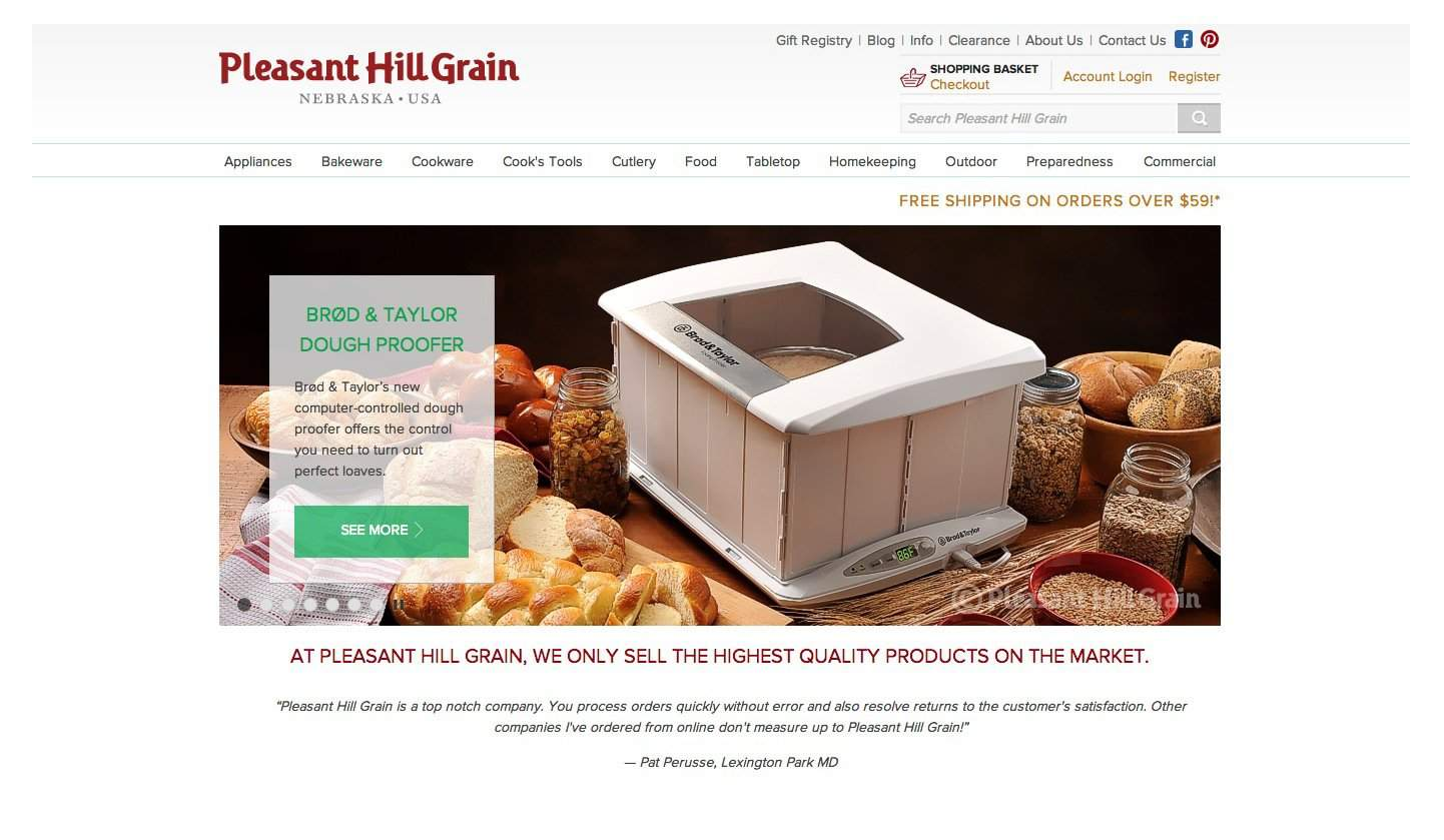 Pleasant Hill Grain Logo Designed by The Logo Smith