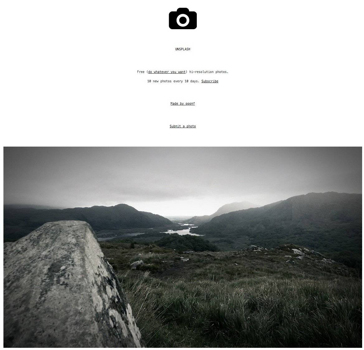 Unsplash - Free Hi-Resolution Photographs - Free Stock Photography