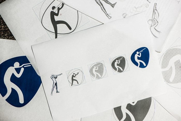 The Rio 2016 Olympic Pictograms
