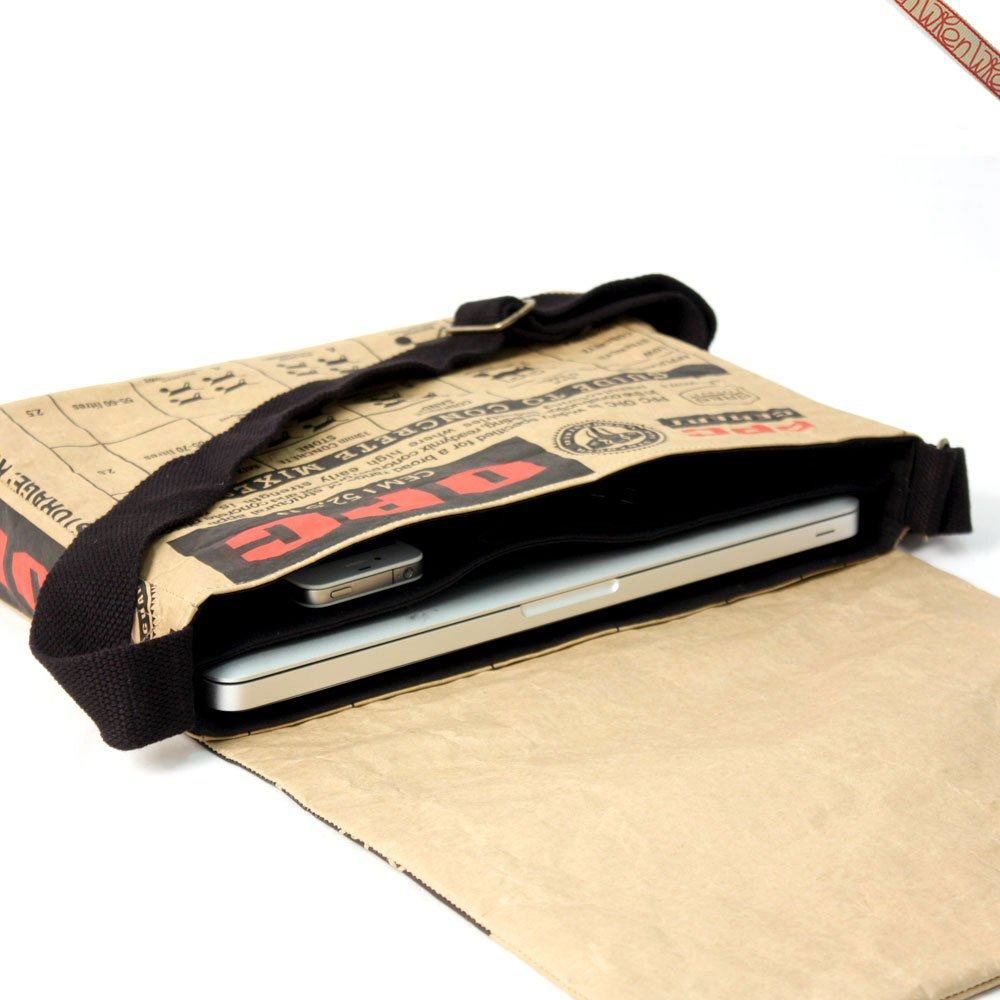 13 Macbook Air Cement Laptop Messenger Bag