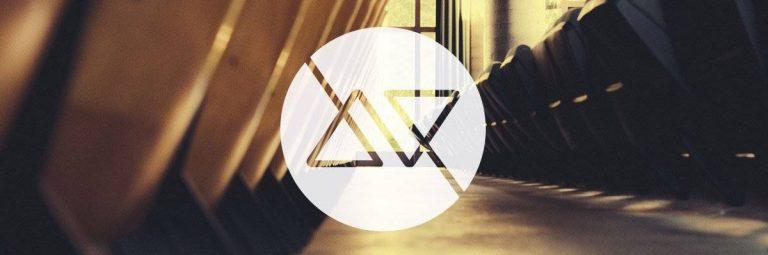 AV Logo Design for sale by The Logo SMith