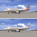 American Airlines Tail Design