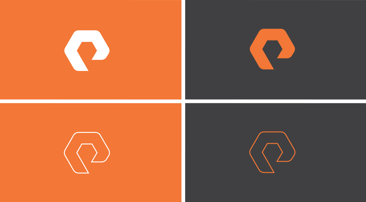 Pure Storage Logomark Design