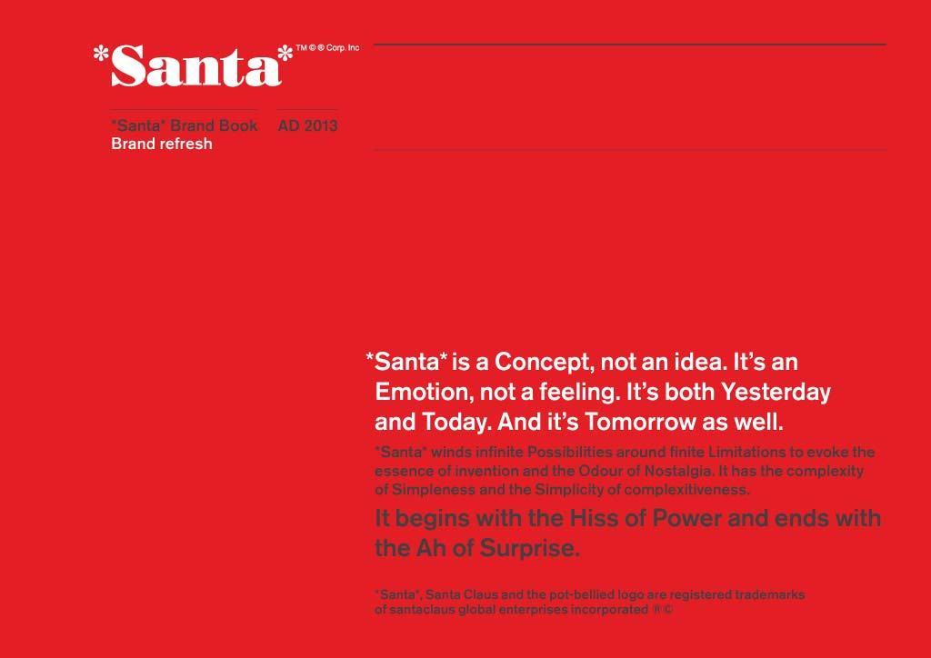 The Santa Brand Book