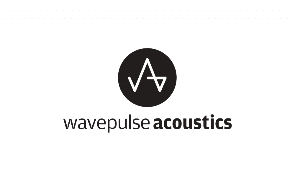 Wavepulse Acoustics Logo Designed by Freelance Logo Designer TheLogoSmith