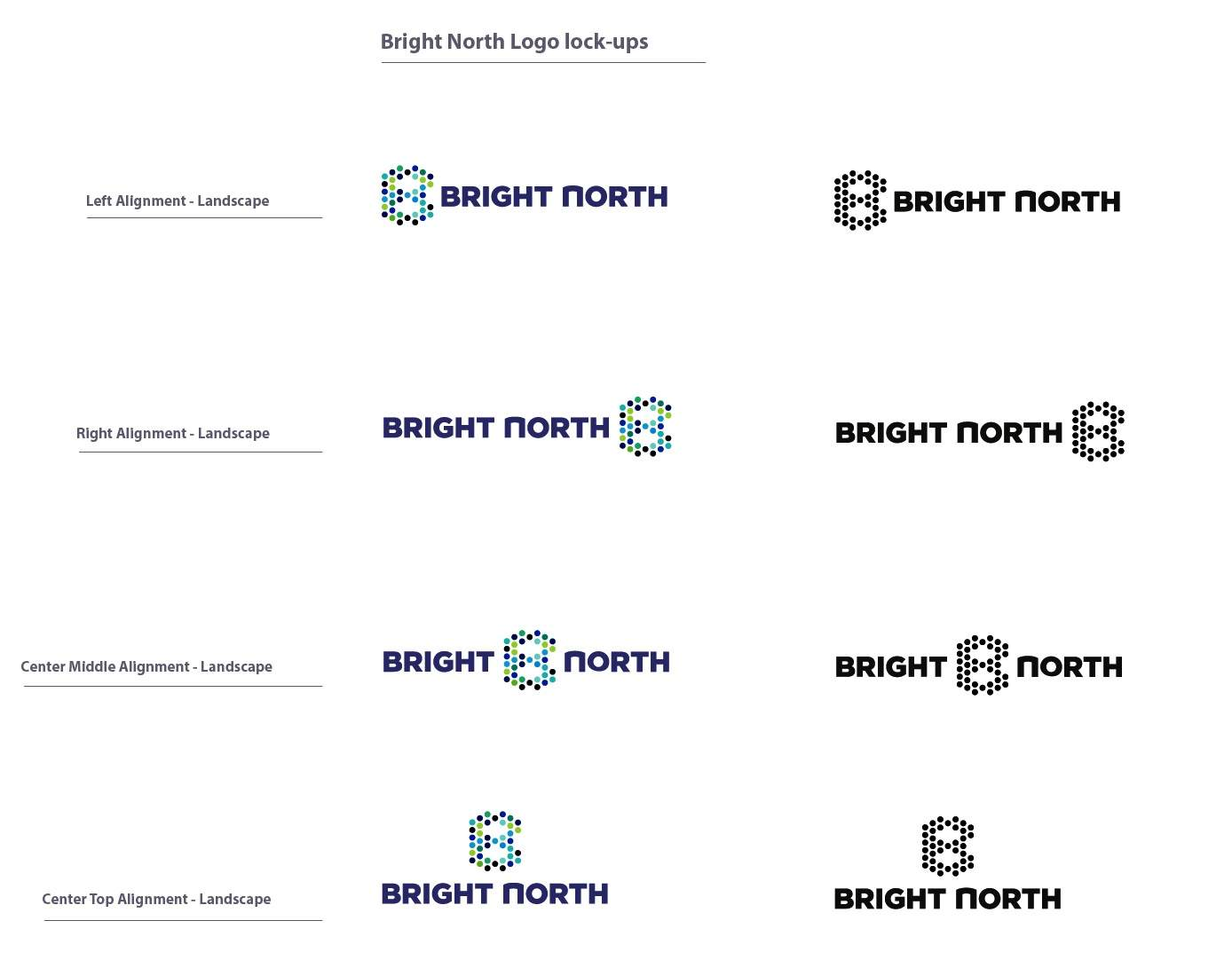 logo placement variations