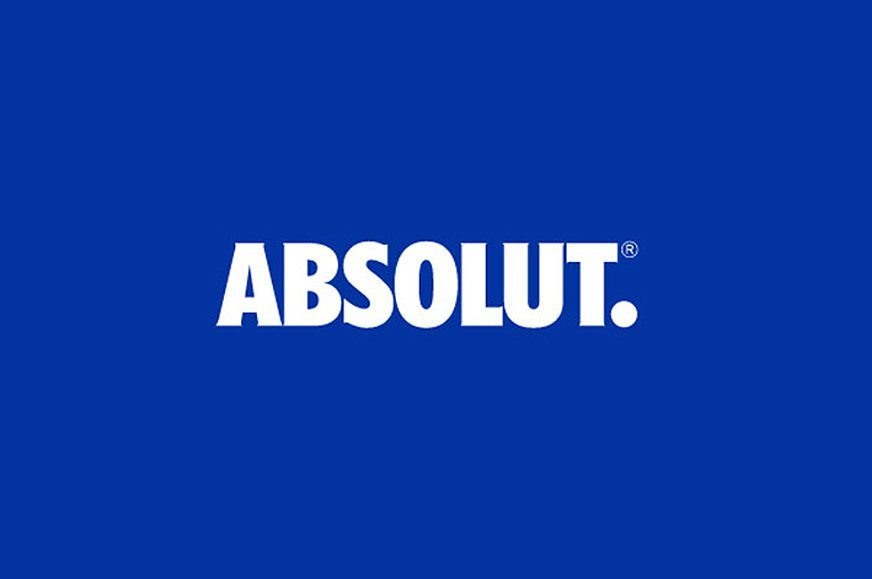 the absolut logo comes of age