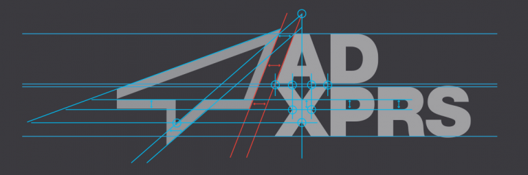ADXPRS Logo Desconstructed-Designed by The Logo Smith