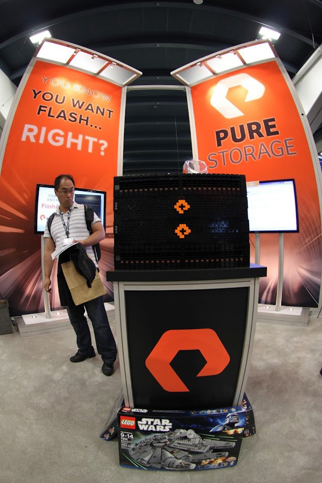 PureStorage Lego Flash Array