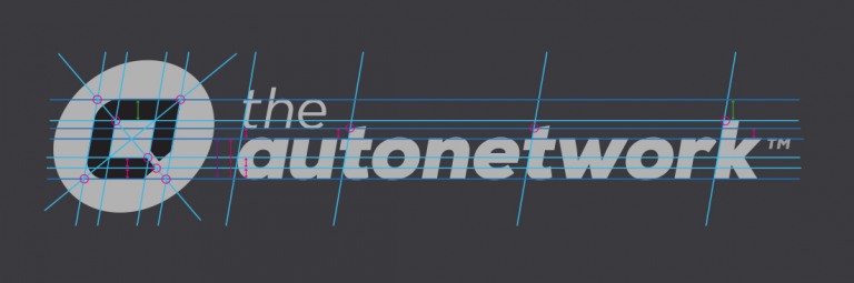 TheAutoNetwork-Logo-Desconstructed Designed by the Logo Smith
