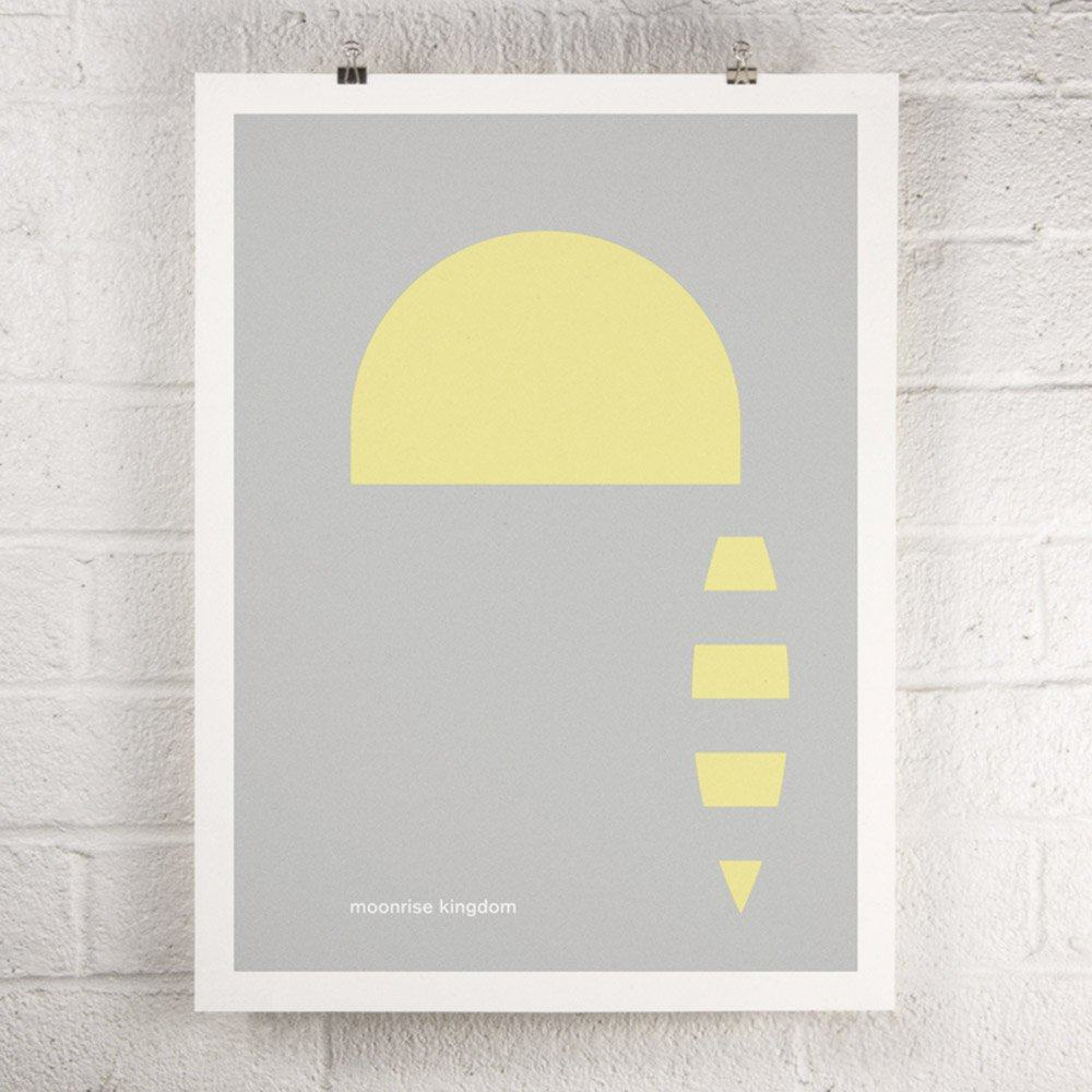 Wes Anderson Film - Moonrise Kingdom screen print poster