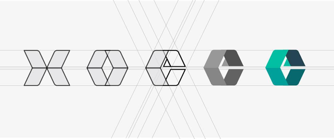 Excedr Logo Deconstructed