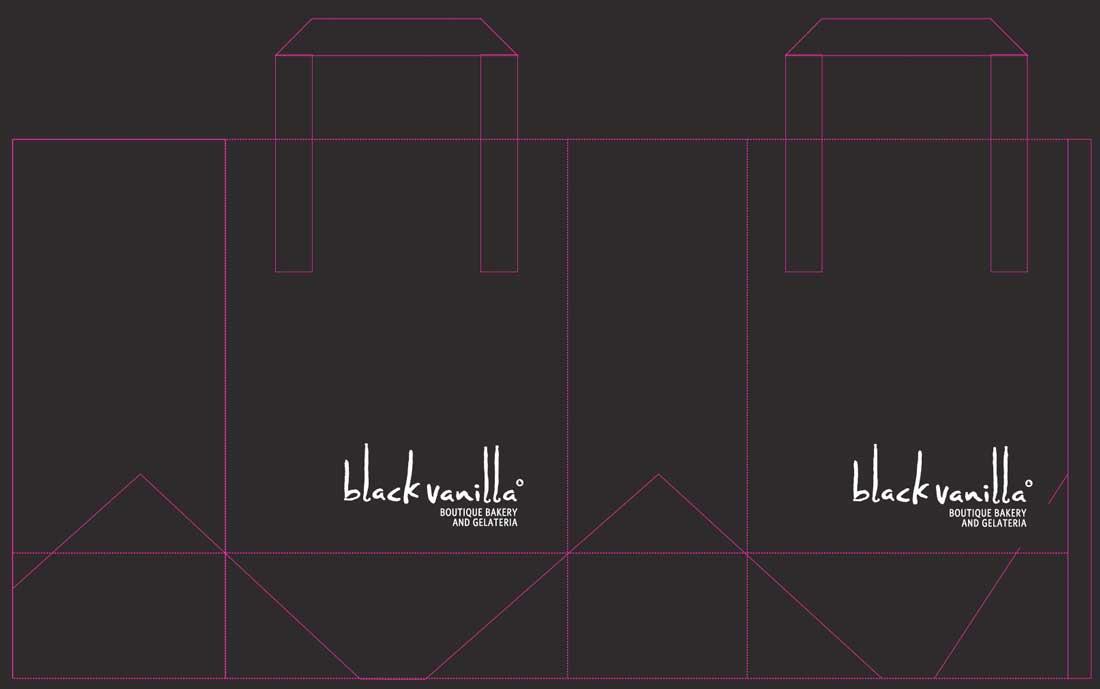 BlackVanilla Logo & Brand Identity Designed by The Logo Smith