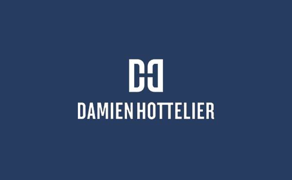 Damien-Hottelier-Logo-Design-by-The-Logo-Smith