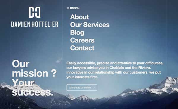 Damien-Hottelier-Web-Site-Design-by-The-Logo-Smith