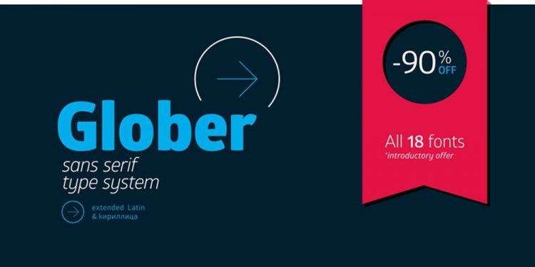 Glober font by Font Fabric
