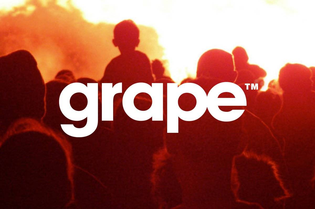 Grape Logo Design by Graham Logo Smith