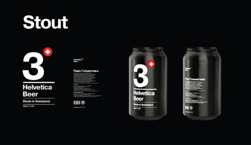 Helvetica Stout designed by Sasha Kischenko