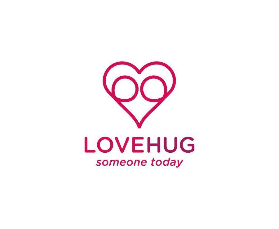 LoveHug Logo Design For Sale