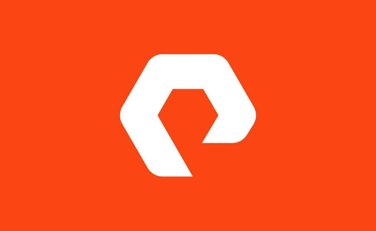 Pure Storage PureStorage Logo Design by The Logo Smith
