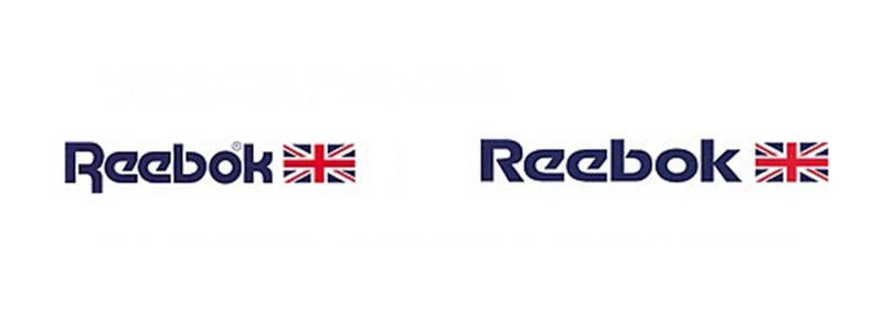 Reeboks Logo Design 1986-1996