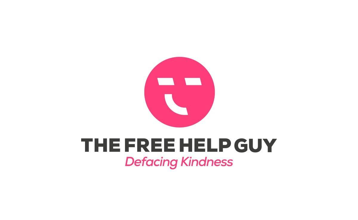 The-Free-Help-Guy-Logo-Design-Designed-by-The-Logo-Smith