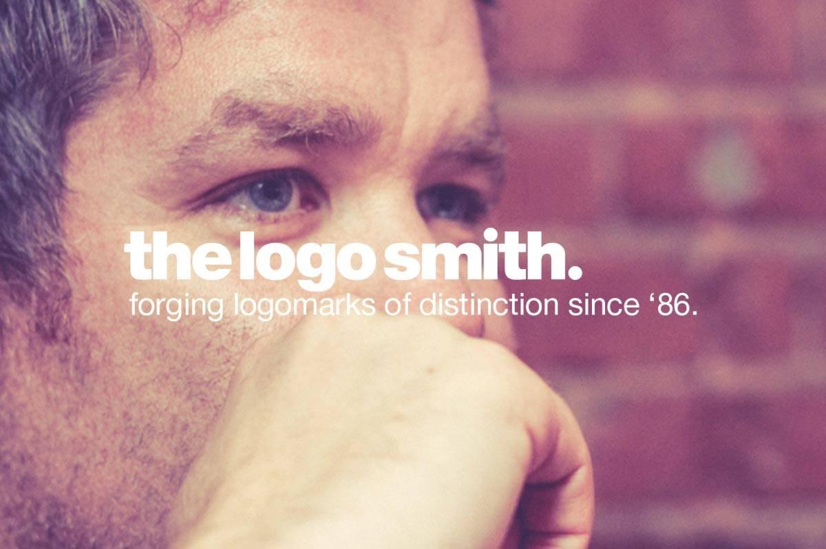 The Logo Smith Logo Design in Helvetica