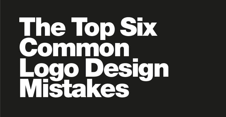The top 6 common logo design mistakes