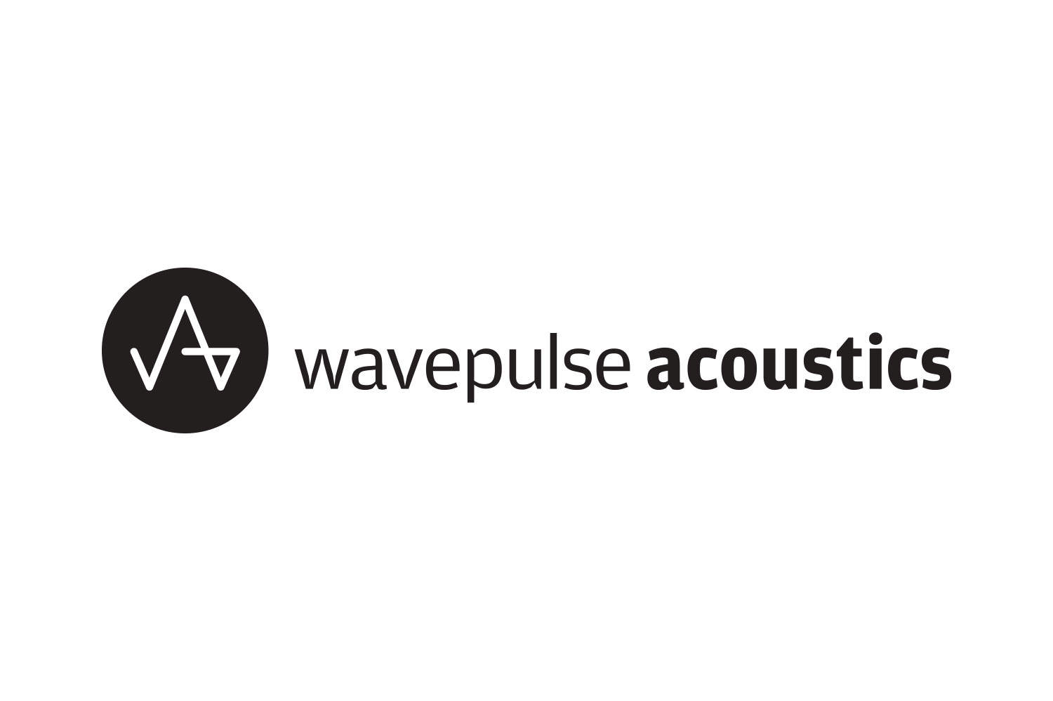 Wavepulse acoustics logo designed by The Logo Smith