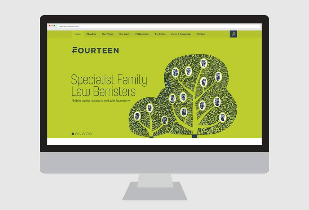 Fourteen Web Design by WeAreMash