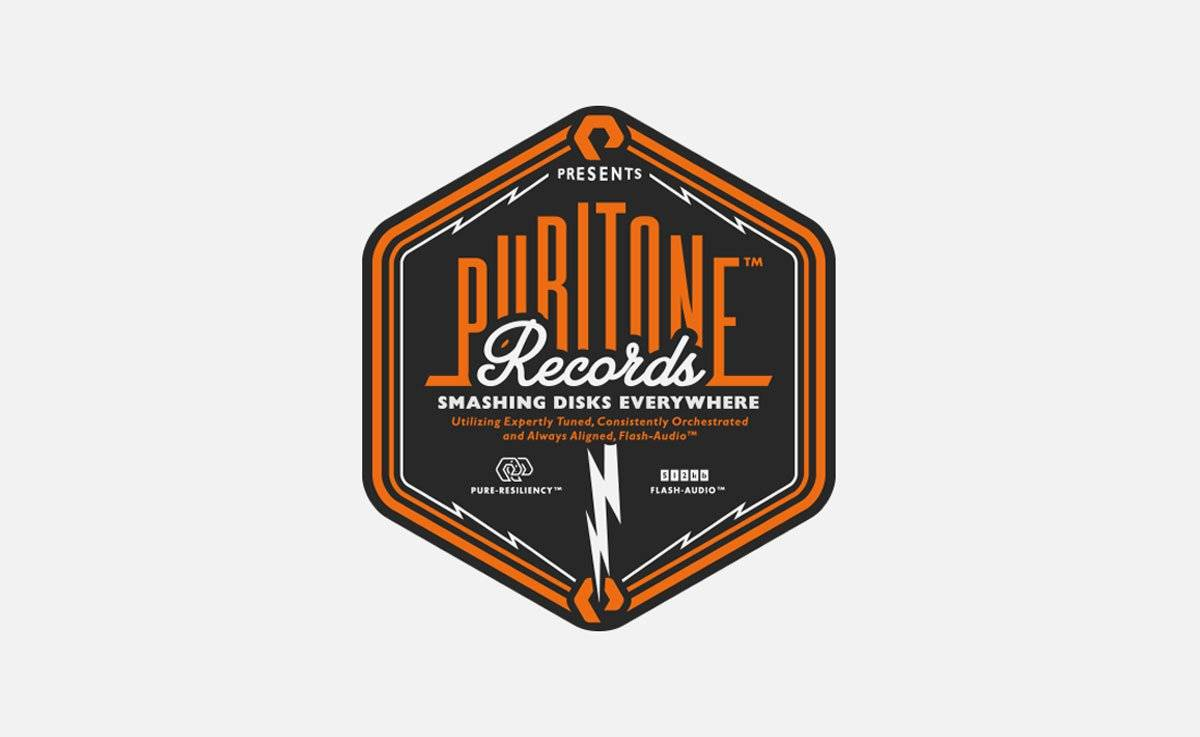 Puritone Records Logotype Design by The Logo Smith