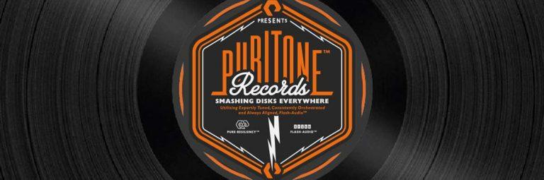 Puritone Records Logo Record Label Design by The Logo Smith