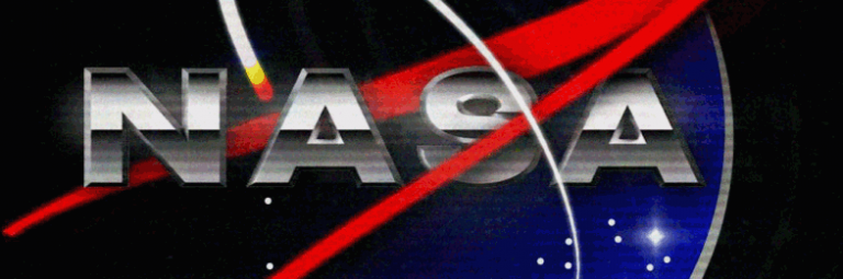 Retro NASA Animated Logo